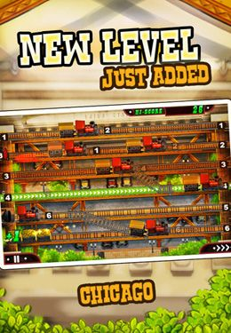 Écrans du jeu Train Conductor 2: USA pour iPhone, iPad ou iPod.
