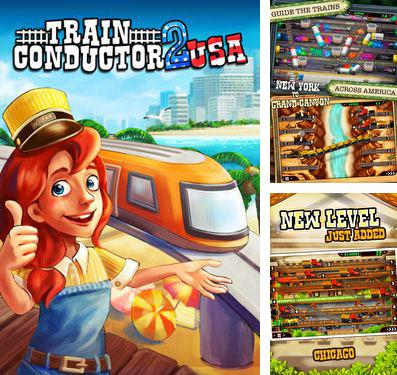 In addition to the game Apple jump for iPhone, iPad or iPod, you can also download Train Conductor 2: USA for free.