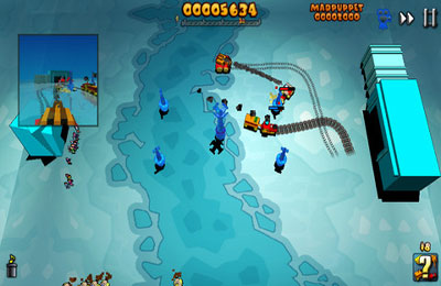 Download Train Defense iPhone free game.