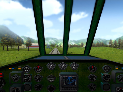 Screenshots vom Spiel Train ride 3D für iPhone, iPad oder iPod.