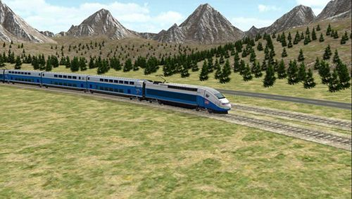 Screenshots vom Spiel Train sim builder für iPhone, iPad oder iPod.