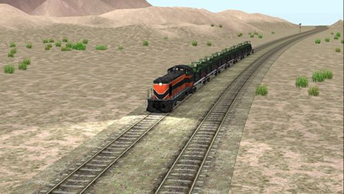 Screenshots do jogo Train sim builder para iPhone, iPad ou iPod.