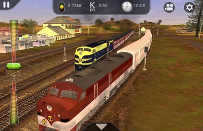 Kostenloser Download von Trainz Driver - train driving game and realistic railroad simulator für iPhone, iPad und iPod.