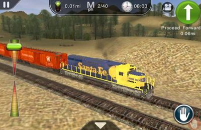iPhone、iPad または iPod 用Trainz Driver - train driving game and realistic railroad simulatorゲームのスクリーンショット。
