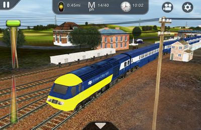 Screenshots vom Spiel Trainz Driver - train driving game and realistic railroad simulator für iPhone, iPad oder iPod.