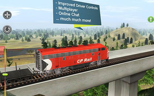 Screenshots of the Trainz simulator 2 game for iPhone, iPad or iPod.