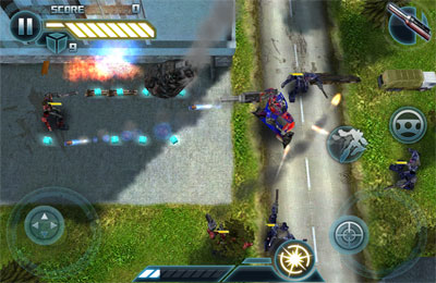 Screenshots do jogo TRANSFORMERS 3 para iPhone, iPad ou iPod.