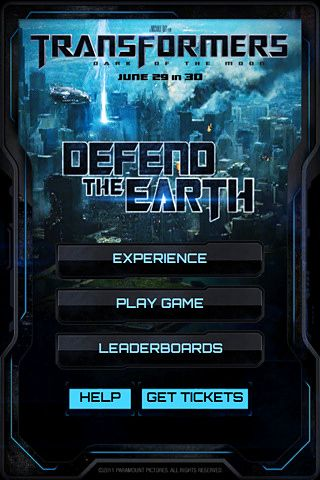 Download Transformers 3: Defend the earth iPhone free game.
