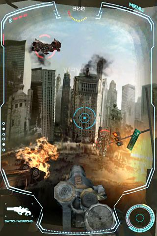 Screenshots vom Spiel Transformers 3: Defend the earth für iPhone, iPad oder iPod.