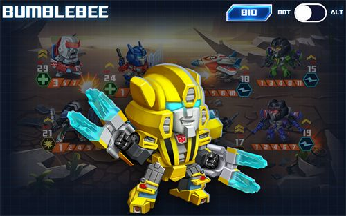 Download Transformers: Battle tactics iPhone free game.