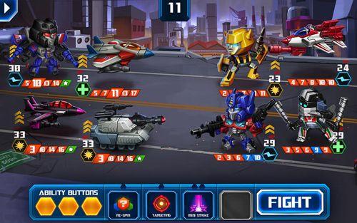 Descarga gratuita de Transformers: Battle tactics para iPhone, iPad y iPod.