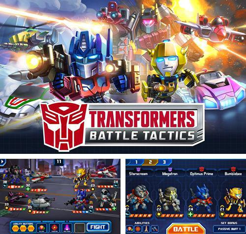 除了 iPhone、iPad 或 iPod 游戏,您还可以免费下载Transformers: Battle tactics, 。