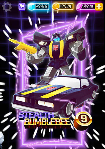 Screenshots of the Transformers: Bumblebee overdrive game for iPhone, iPad or iPod.