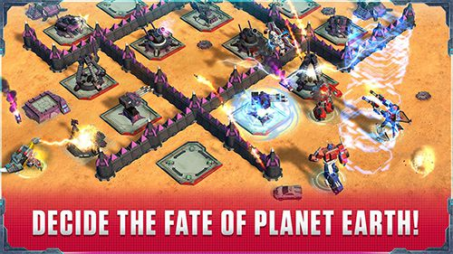 Download Transformers: Earth wars iPhone free game.