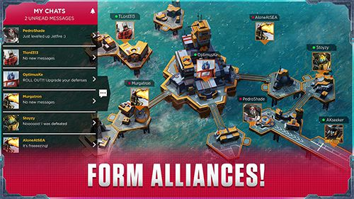 Screenshots of the Transformers: Earth wars game for iPhone, iPad or iPod.