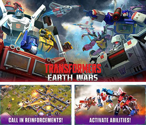 除了 iPhone、iPad 或 iPod 游戏,您还可以免费下载Transformers: Earth wars, 。