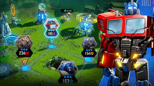 Скачать Transformers: Forged to fight на iPhone бесплатно