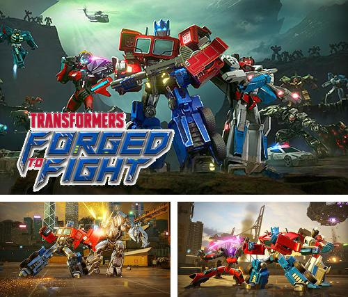 In addition to the game Rivals at War: 2084 for iPhone, iPad or iPod, you can also download Transformers: Forged to fight for free.