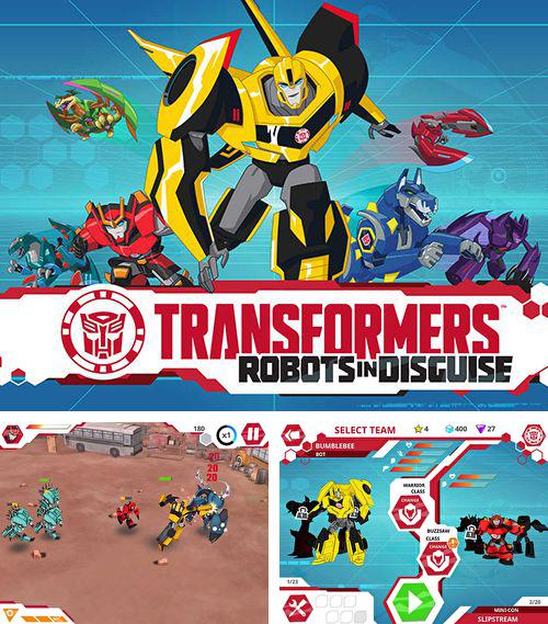 Alem do jogo Grand Theft Auto 3 para iPhone, iPad ou iPod, voce tambem pode baixar Transformers: Robôs camuflados, Transformers: Robots in disguise gratuitamente.