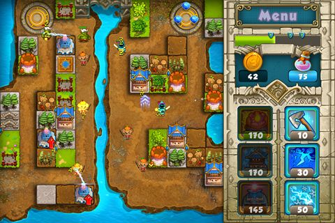 Download Treasure defense iPhone free game.