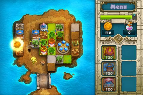 Free Treasure defense download for iPhone, iPad and iPod.