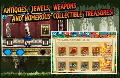 Screenshots of the Treasure Jones game for iPhone, iPad or iPod.