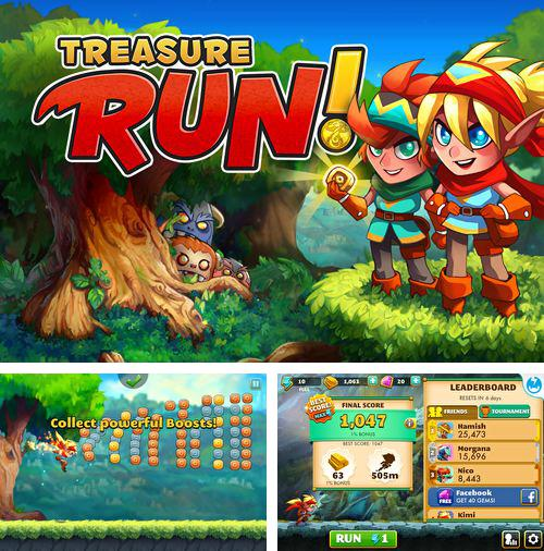In addition to the game The deep: Sea of shadows for iPhone, iPad or iPod, you can also download Treasure run! for free.
