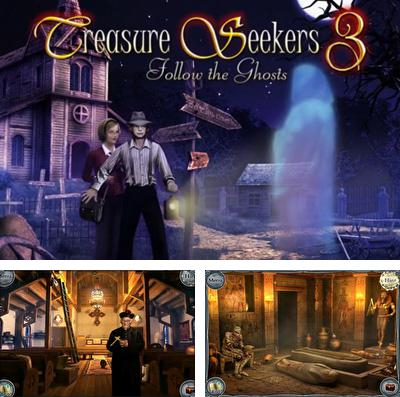 Además del juego Salvando al pez  para iPhone, iPad o iPod, también puedes descargarte gratis Treasure Seekers 3: Follow the Ghosts.