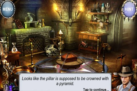 Screenshots of the Treasure Seekers 4: The Time Has Come game for iPhone, iPad or iPod.