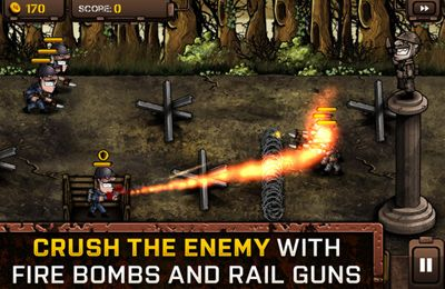 Capturas de pantalla del juego Trenches 2 para iPhone, iPad o iPod.