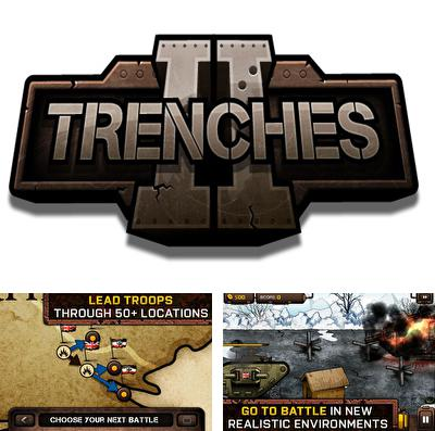 In addition to the game Zombie: Halloween Slasher for iPhone, iPad or iPod, you can also download Trenches 2 for free.