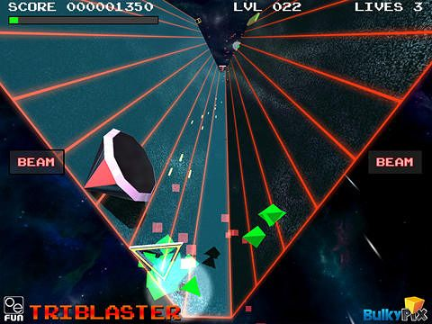 Free Tri blaster download for iPhone, iPad and iPod.