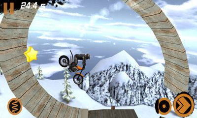 Capturas de pantalla del juego Trial Xtreme 2 Winter Edition para iPhone, iPad o iPod.