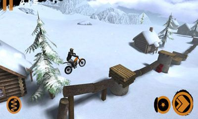 Скріншот гри Trial Xtreme 2 Winter Edition на Айфон.