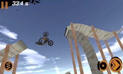 Screenshots vom Spiel Trial Xtreme 2 Winter Edition für iPhone, iPad oder iPod.