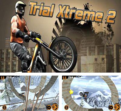 除了 iPhone、iPad 或 iPod 游戏,您还可以免费下载Trial Xtreme 2 Winter Edition, 极限摩托2。