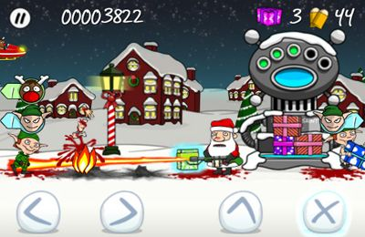 iPhone、iPad 或 iPod 版Trigger Happy Christmas游戏截图。