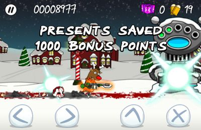 Écrans du jeu Trigger Happy Christmas pour iPhone, iPad ou iPod.