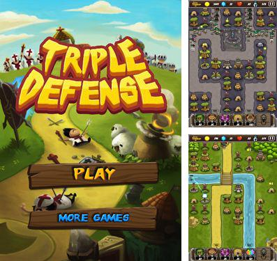 除了 iPhone、iPad 或 iPod 游戏,您还可以免费下载Triple Defense, 塔塔塔防。