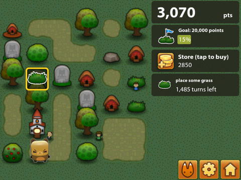 Free Triple Town download for iPhone, iPad and iPod.