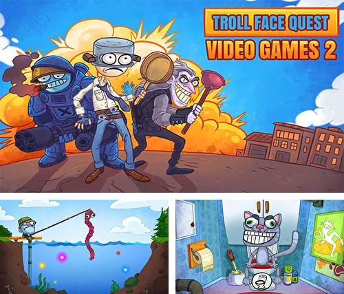 Скачать Troll face quest: Video games 2 на iPhone бесплатно