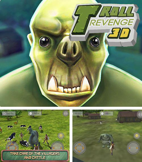 In addition to the game Lines for iPhone, iPad or iPod, you can also download Troll revenge 3D: Deluxe for free.
