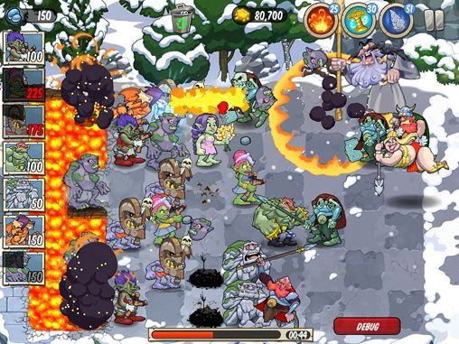 Descarga gratuita de Trolls vs. vikings para iPhone, iPad y iPod.