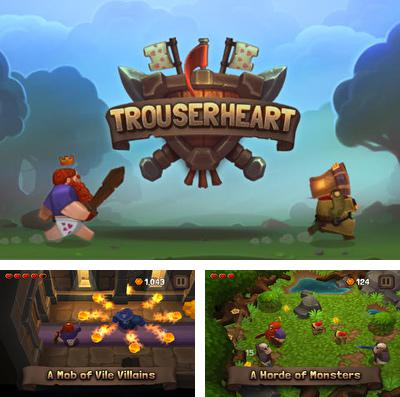 In addition to the game Ninja up! for iPhone, iPad or iPod, you can also download Trouserheart for free.
