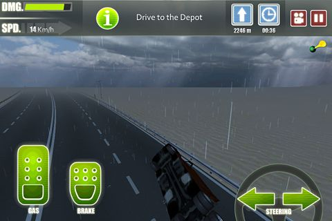 Free Truck driver 3 download for iPhone, iPad and iPod.