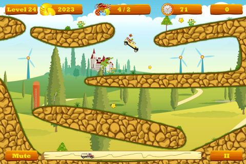 Download Truck go iPhone free game.