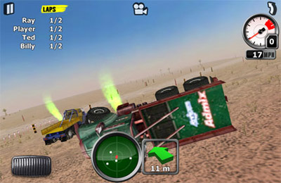 Screenshots of the Truck Jam game for iPhone, iPad or iPod.