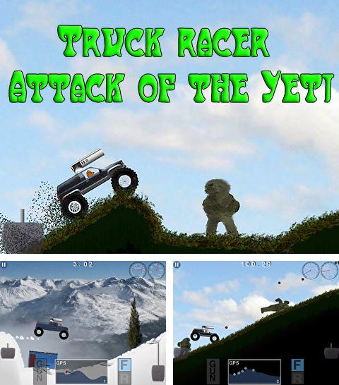 In addition to the game Zombie isle for iPhone, iPad or iPod, you can also download Truck racer: Attack of the Yeti for free.