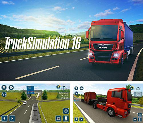 In addition to the game Talking Tom farts for iPhone, iPad or iPod, you can also download Truck simulation 16 for free.