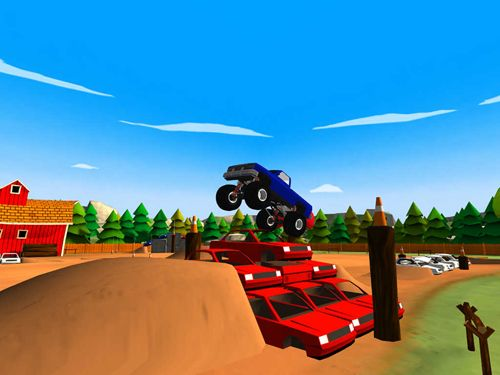 Скачать игру Truck trials 2: Farm house 4x4 для iPad.